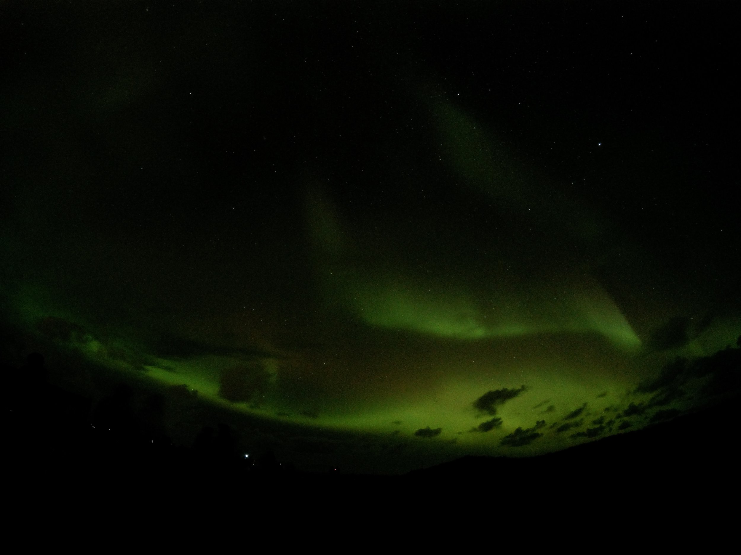 Core Retreat 2017 - Reykjavik, Iceland Northern Lights seen from outside Reykjavik