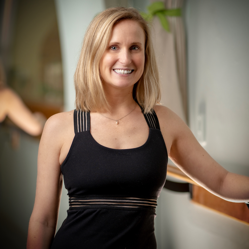 Jane Baehr Shelton  -  Studio Manager & Pilates Teacher
