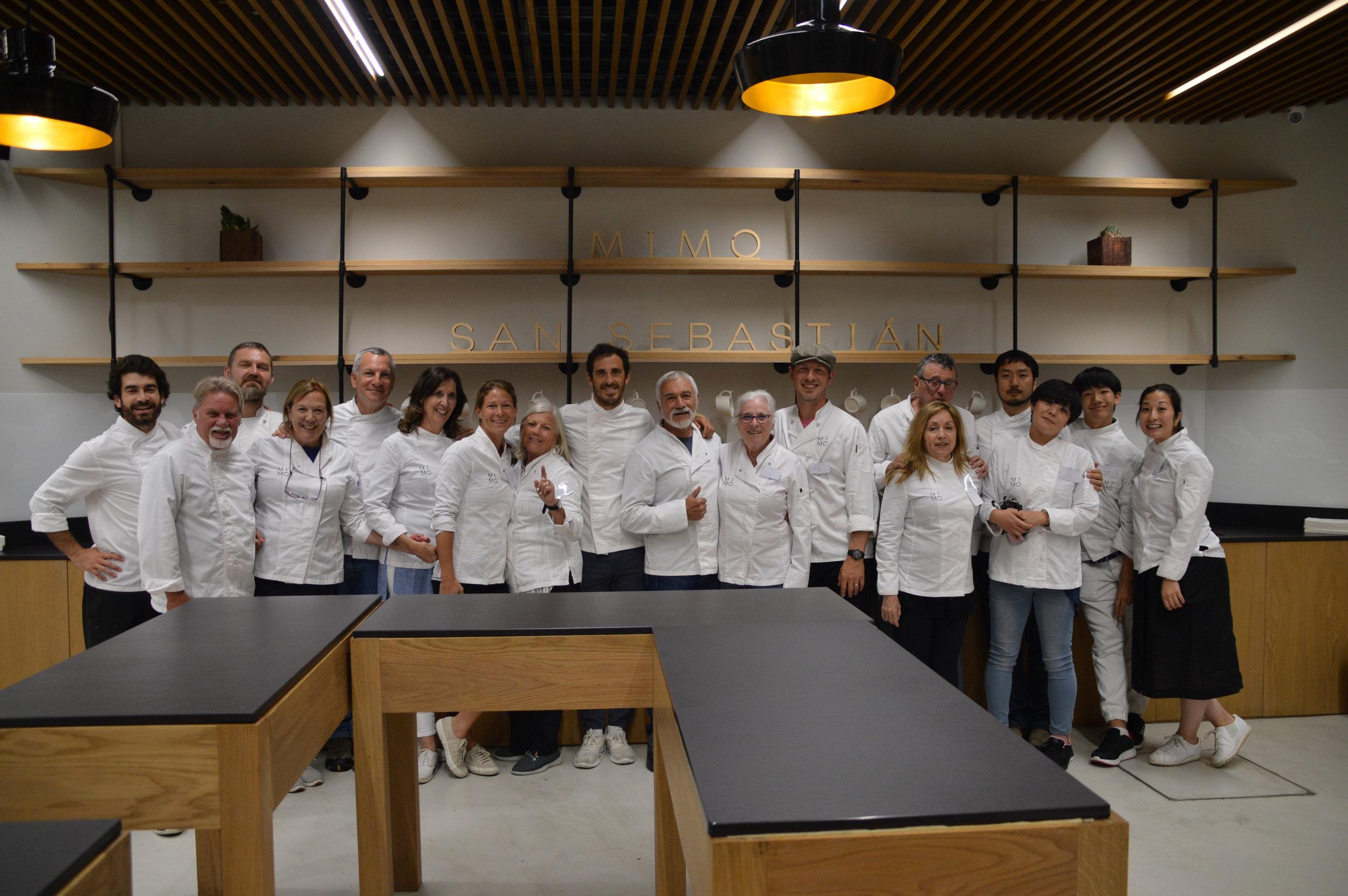 Core Retreat 2019 - San Sebastian, Spain Cooking Class at Mimo