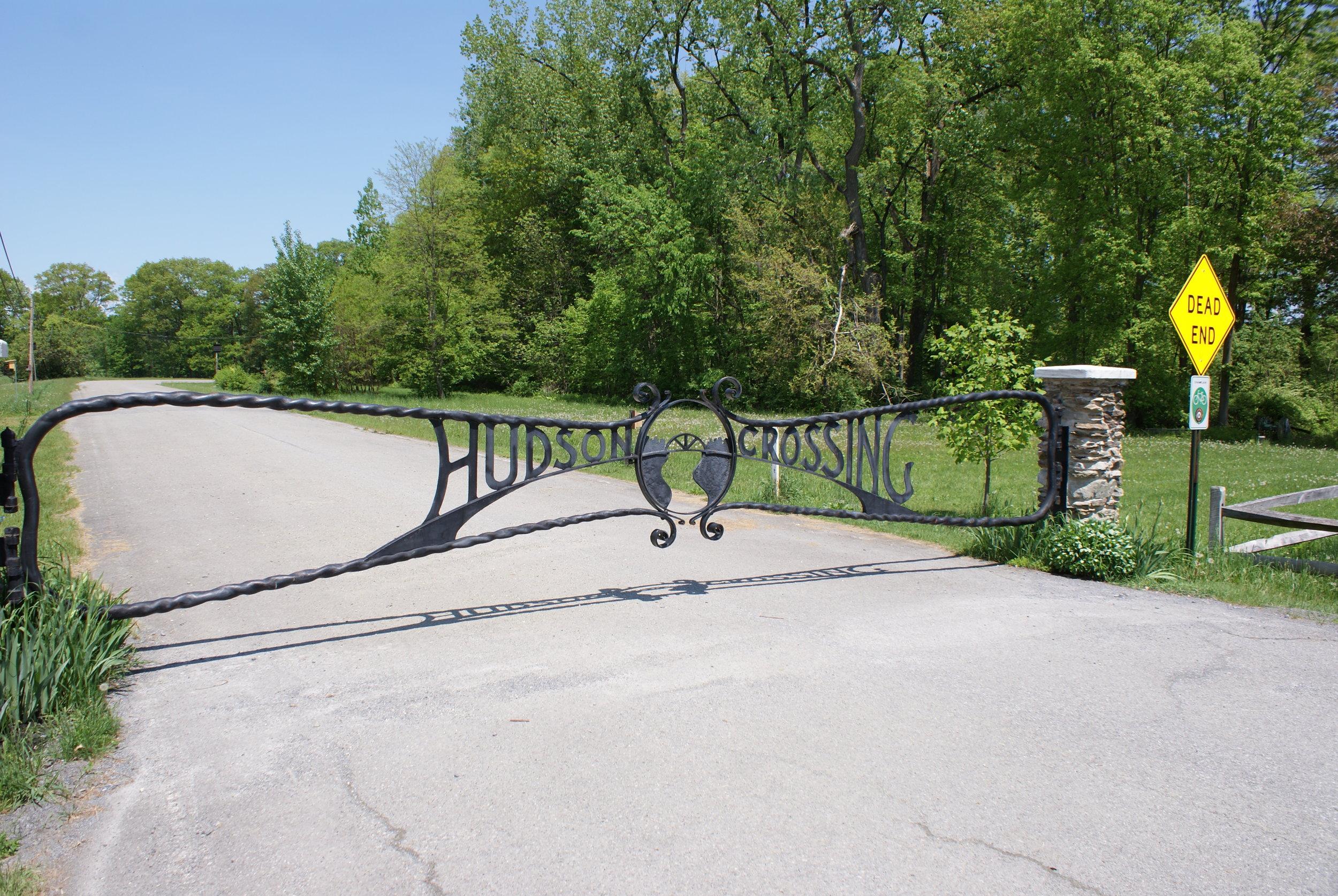 Hudson Crossing Gate - Leif Johnson