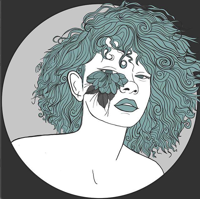 radically soft @awomenfest - - - - - - - #illustration #instaart #instaartist #feminism #ofcourseimafeminist #womenillustrators #prochoice #mybodymychoice