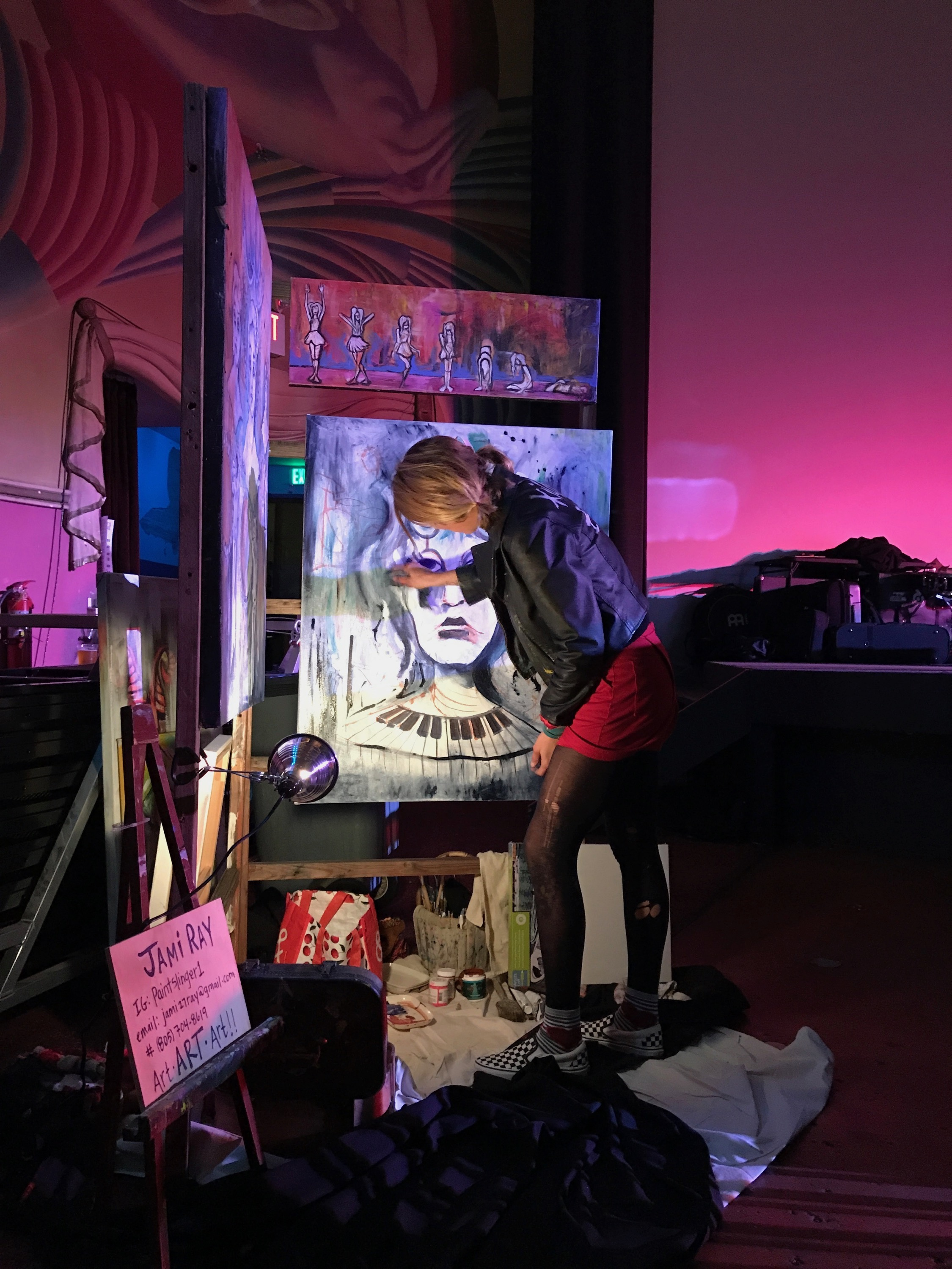 Live Paintings