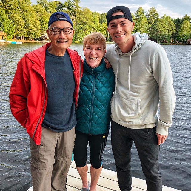✅ The parents first trip to Muskoka