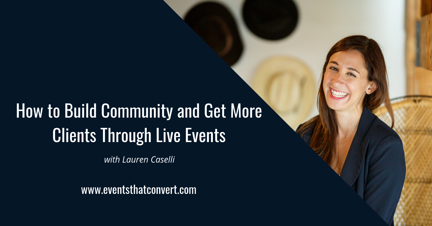 Want to know how to host your first event with no money, no clients, and no list? I'm about to help you.