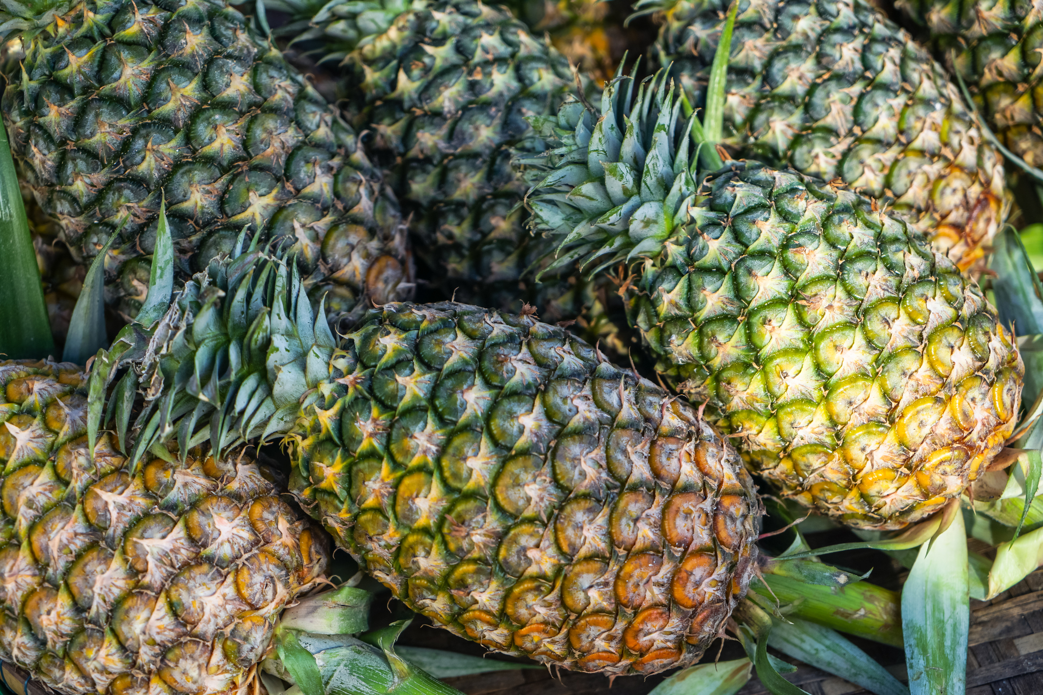 Pineapple Skin - Did you ever have pineapple peel tea?  You have to try it.  And keep those vitamins and antioxidants coming!