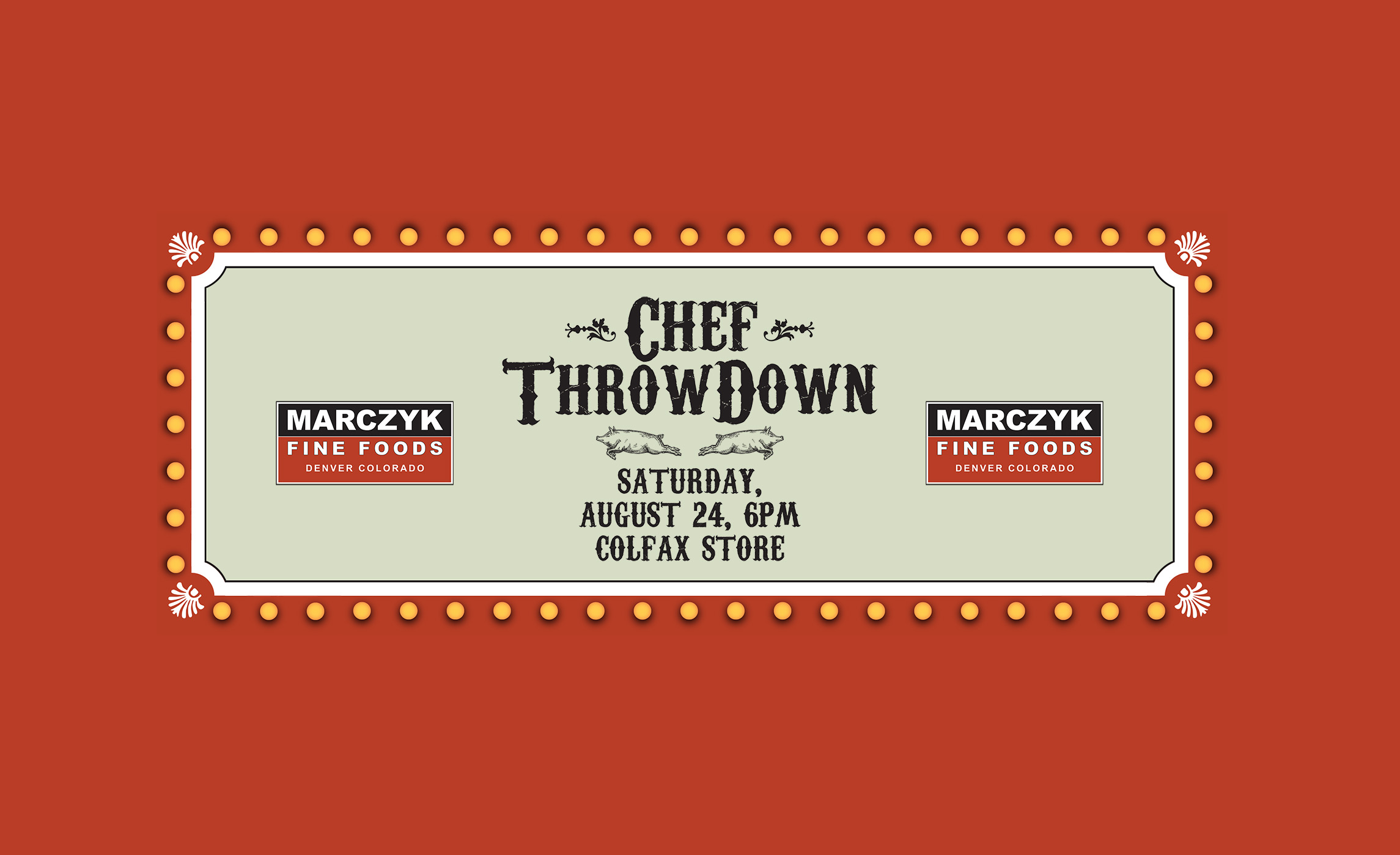 The Chef Throwdown's a'comin'.    GET YOUR TICKETS HERE