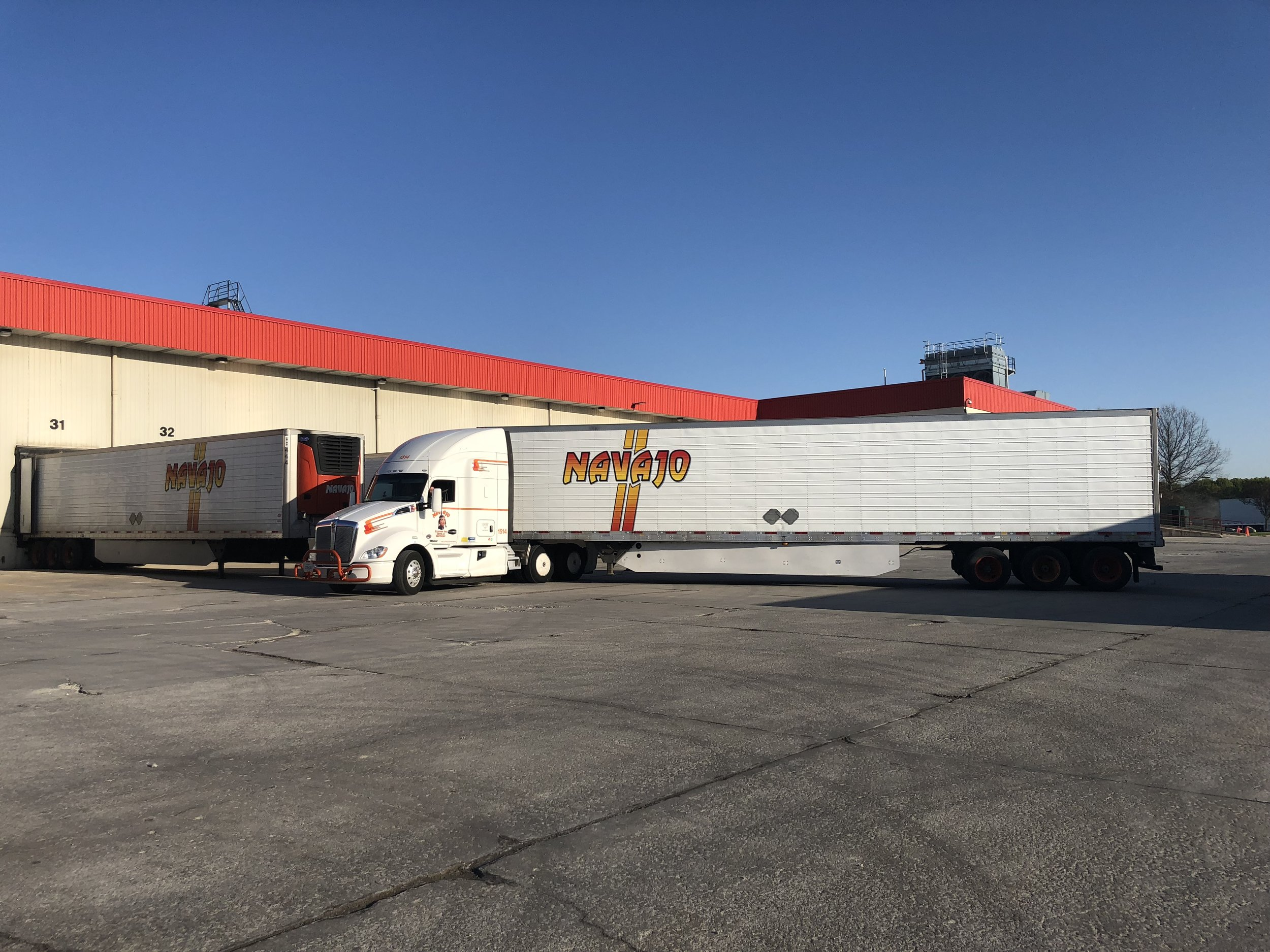 Many of our Navajo drivers in Indiana are familiar with the ConAgra regional route and earning great miles!