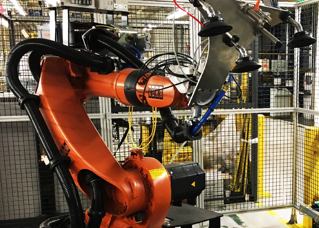 KUKA Pick and Pack Industrial Robot Fitz-Thors Engineering