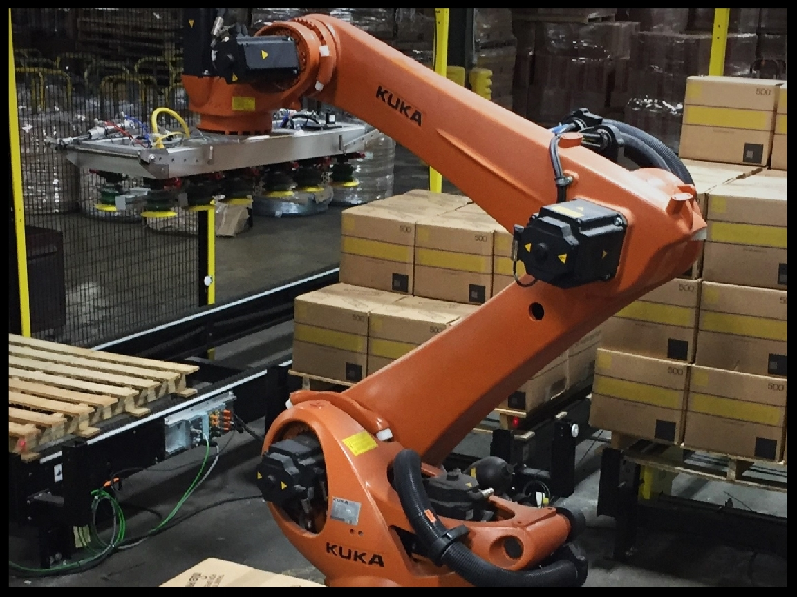 KUKA, Pick and Pack Industrial Robot, Fitz-Thors Engineering, Birmingham, AL