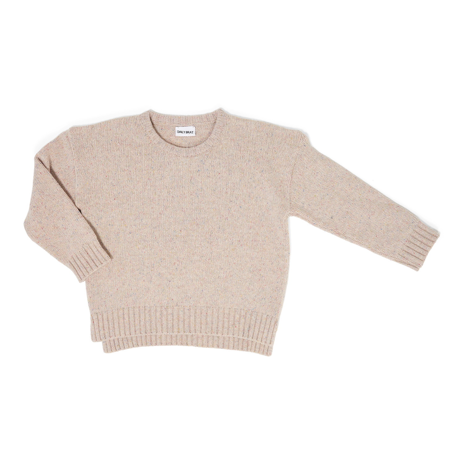 Ashton oversized freckled knit ivory front.jpg