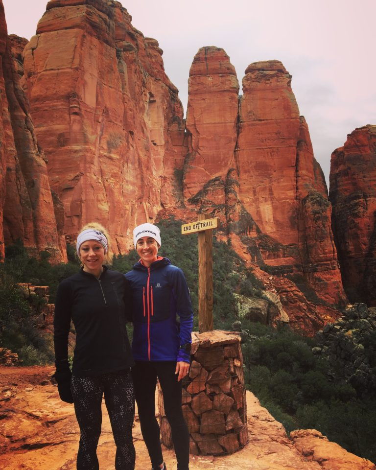 Exploring the beautiful trails and red sandstone formations in Sedona Arizona with Melanie Myrand