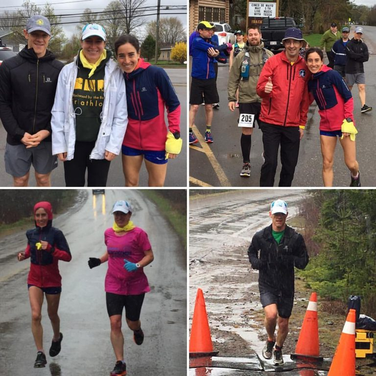 2017 Adventure Corridor Relay from Sussex to St. Martins (52k), with my husband and sister. 1st place overall in the relay!