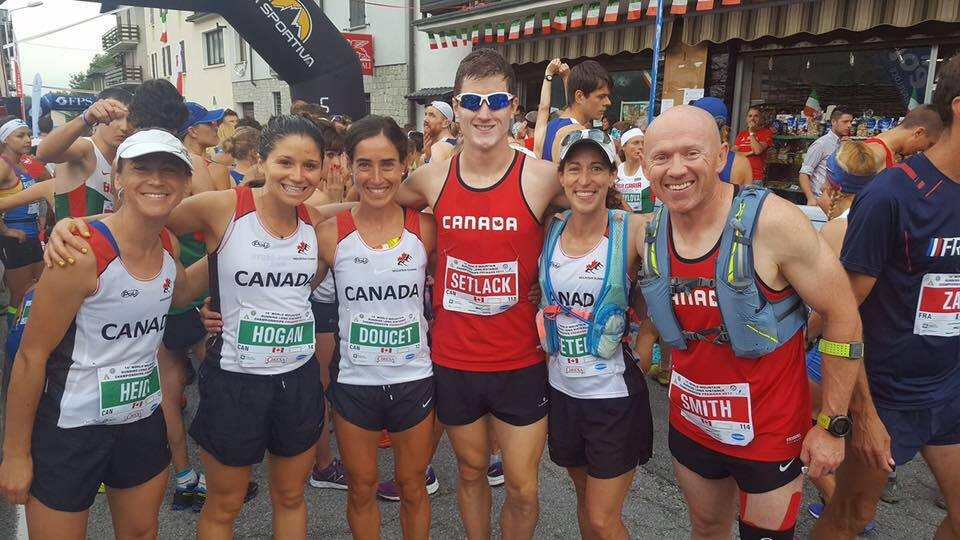 Team Canada on Race Day!