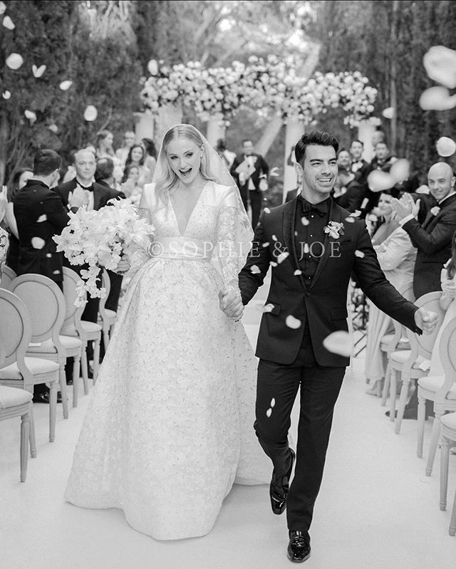 We are delighted to have been a part of Sophie and Joe Jonas's wedding last week and be part of the amazing team that made the day so special.  Photo: @corbingurkin  Design + Planning: @joyproctor  Florals: @bowsandarrowsflowers x @floresie
