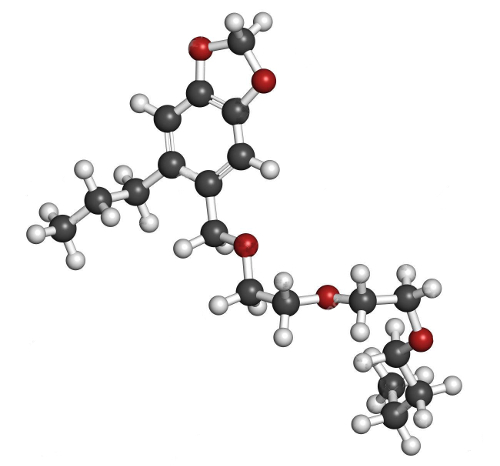 "Piperonyl butoxide: a common ""synergist"""