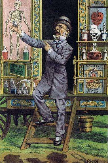 """The Traveling Quack"" (1889)"