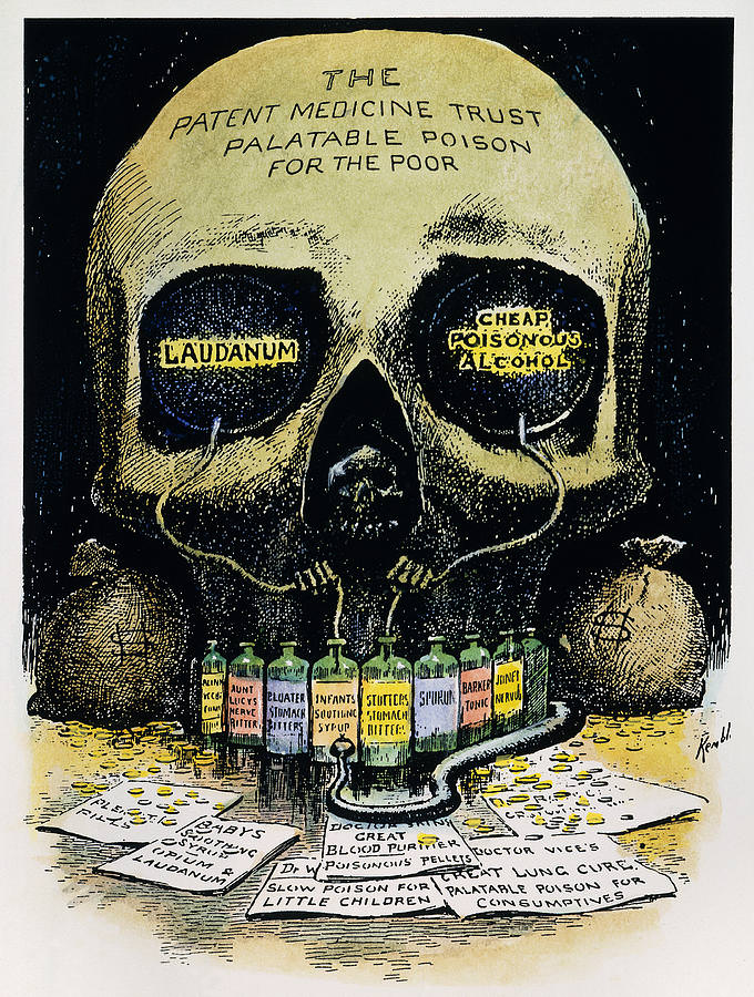 """E.W. Kemball: """"Death's Laboratory"""" (1906: Collier's National Weekly), a warning about unpatented medicines"""