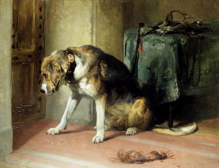 """Suspense"": Sir Edwin Lanseer (1834)"