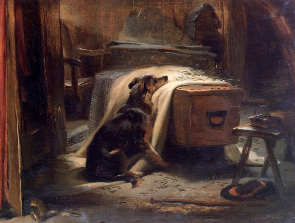"""The Old Shepherd's Chief Mourner"": Sir Edwin Lanseer (1837)"