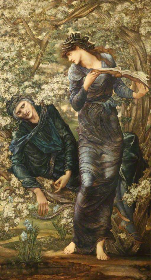 Edward Burne-Jones, The Beguiling of Merlin (1874)