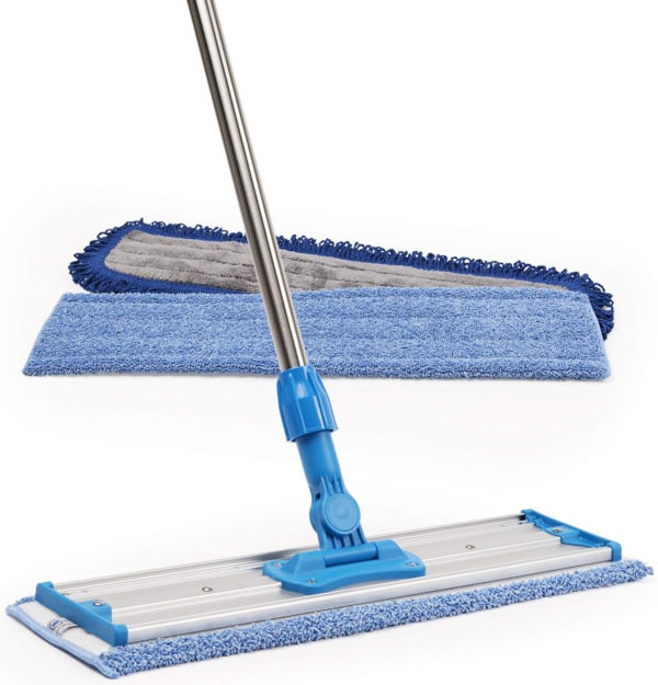 Mop that offers alternative covers which are durable and can be washed many times; some prefer those that use disposable covers.
