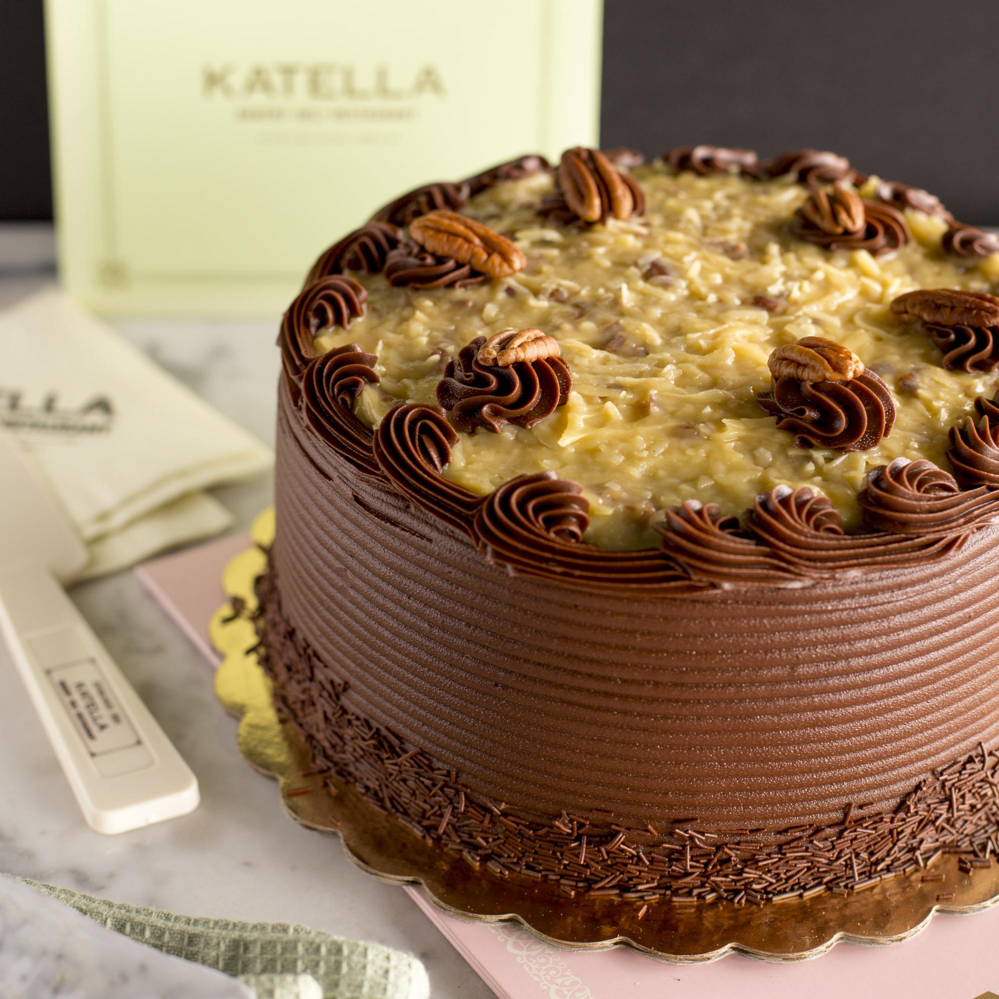 Katella Bakery German chocolate cake
