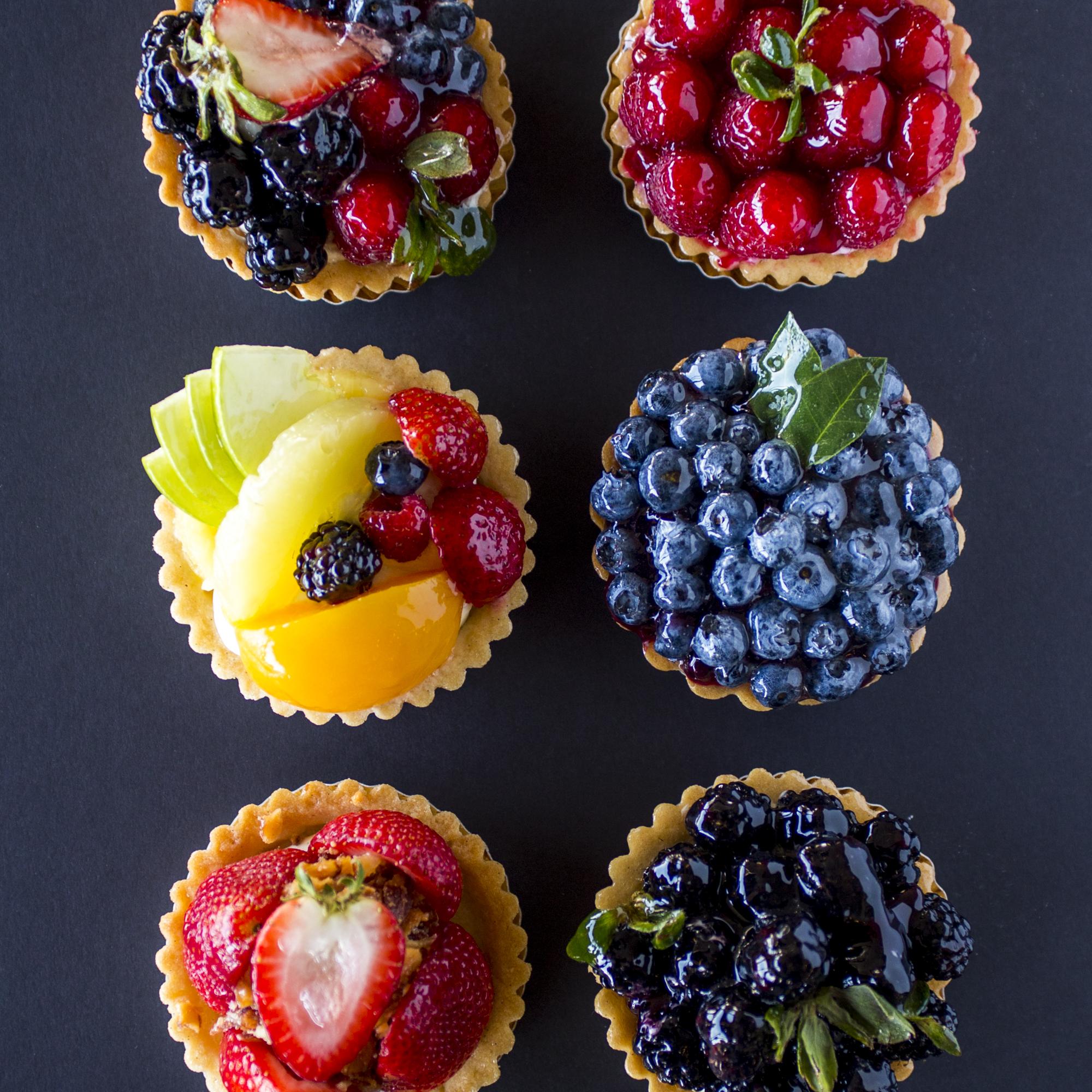 Katella Bakery mini fruit tarts