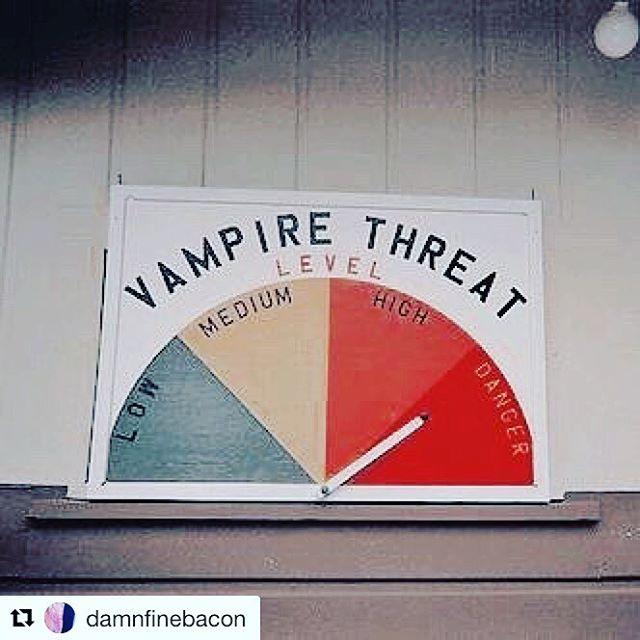 Especially in the food industry, high alert!! 👀 #ivegotyournumber #vampire #secret #butchery