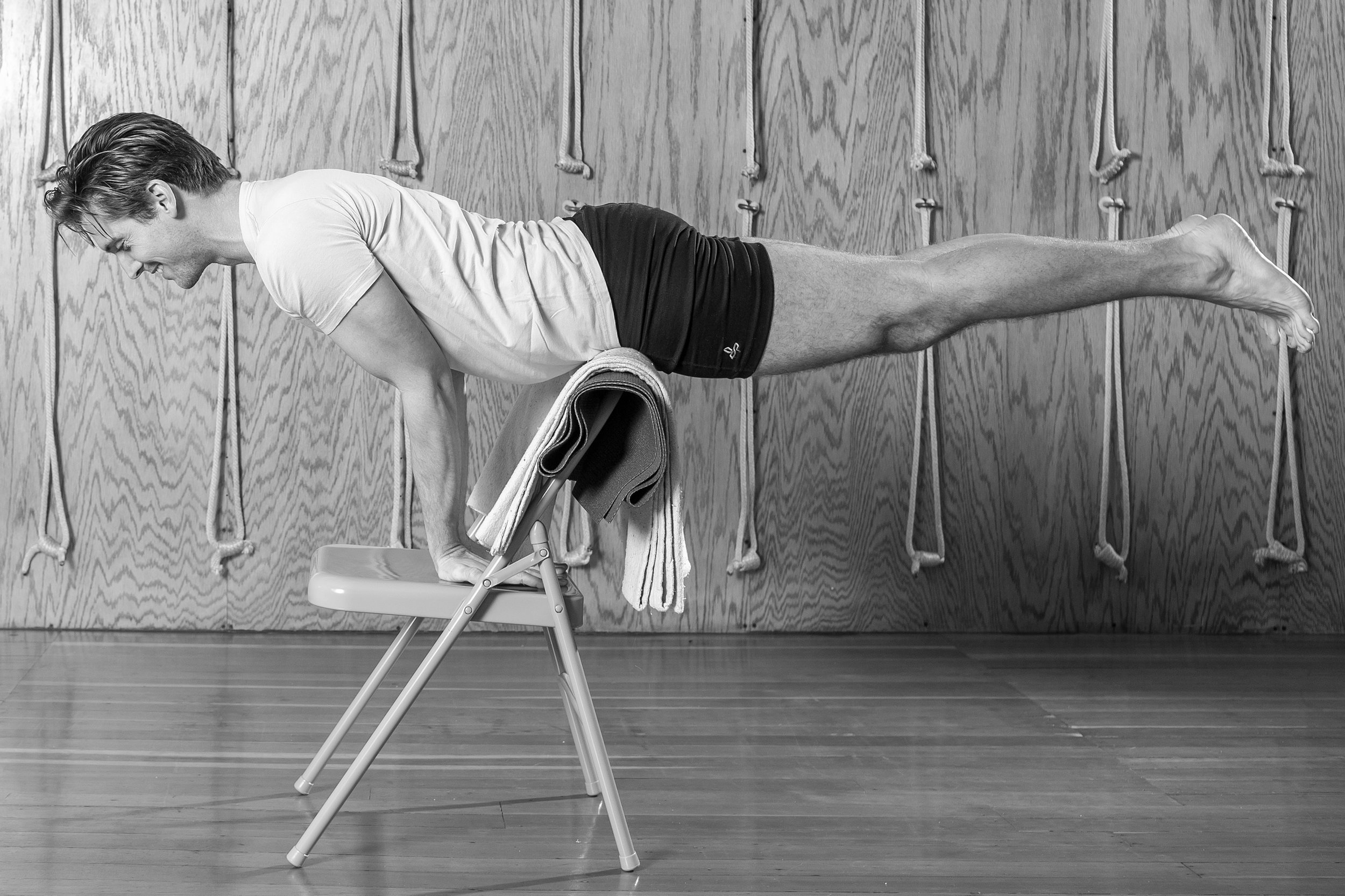 Dustin McCallister Yoga Mayurasana