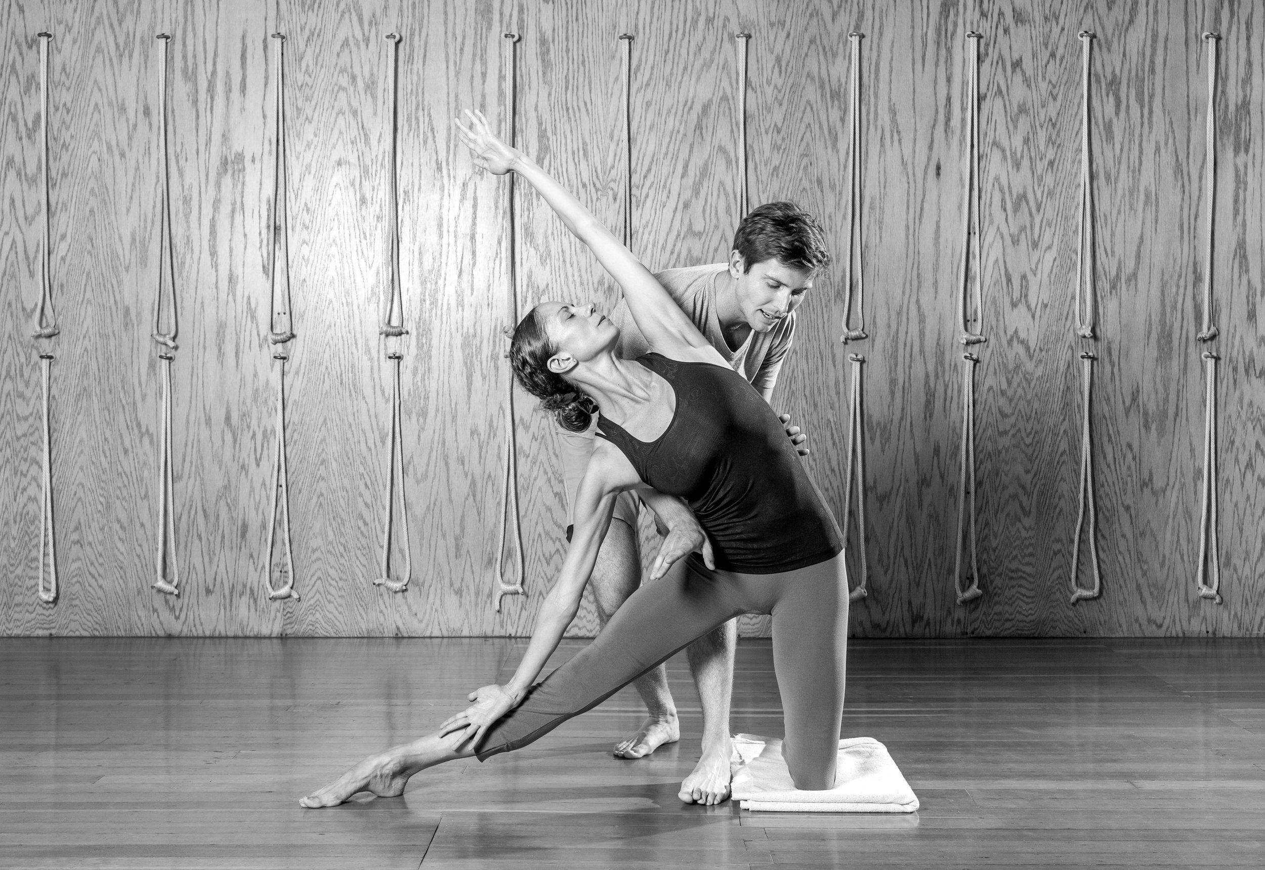 Dustin McCallister Yoga Private Lesson