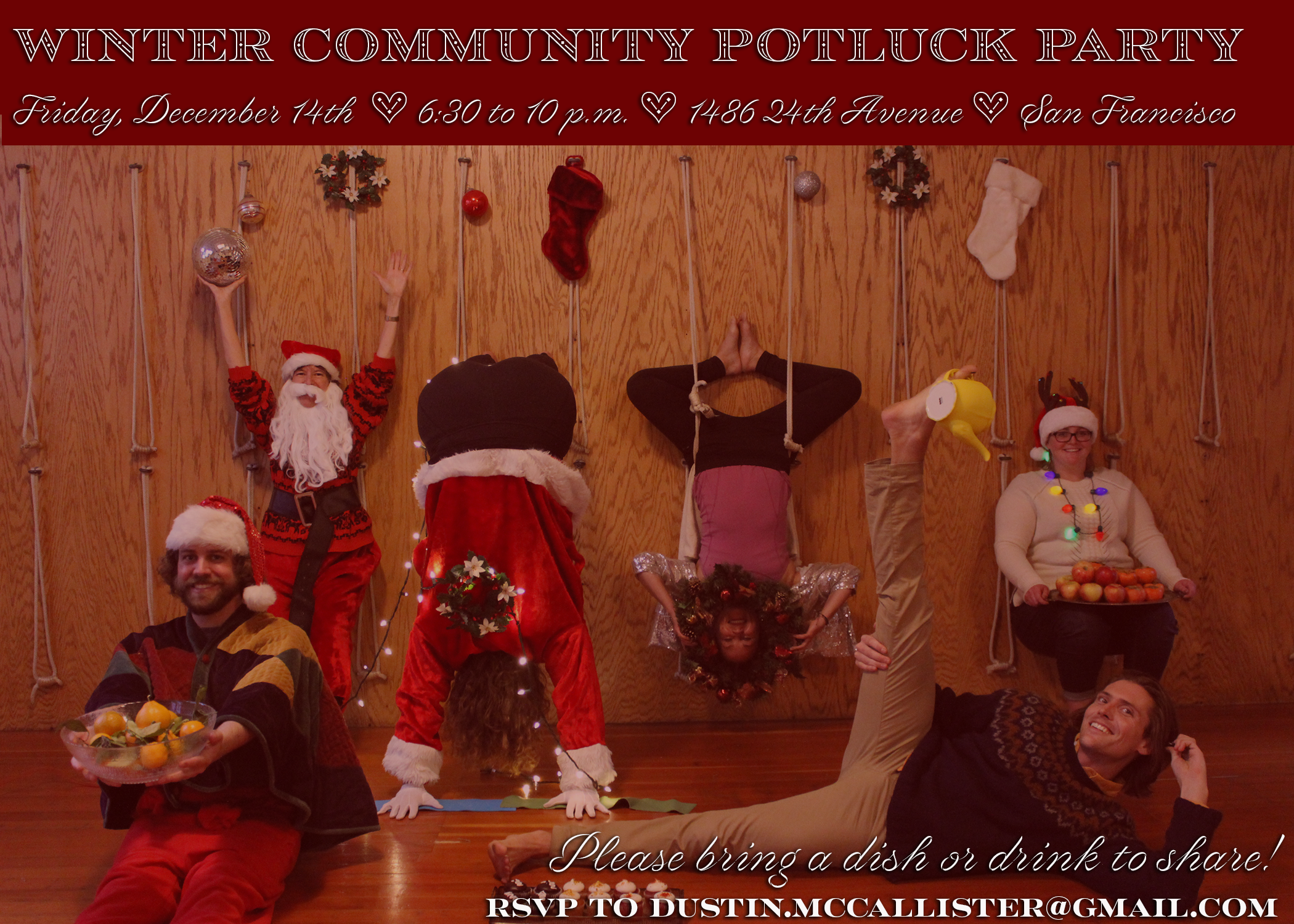 Dustin McCallister Yoga Potluck