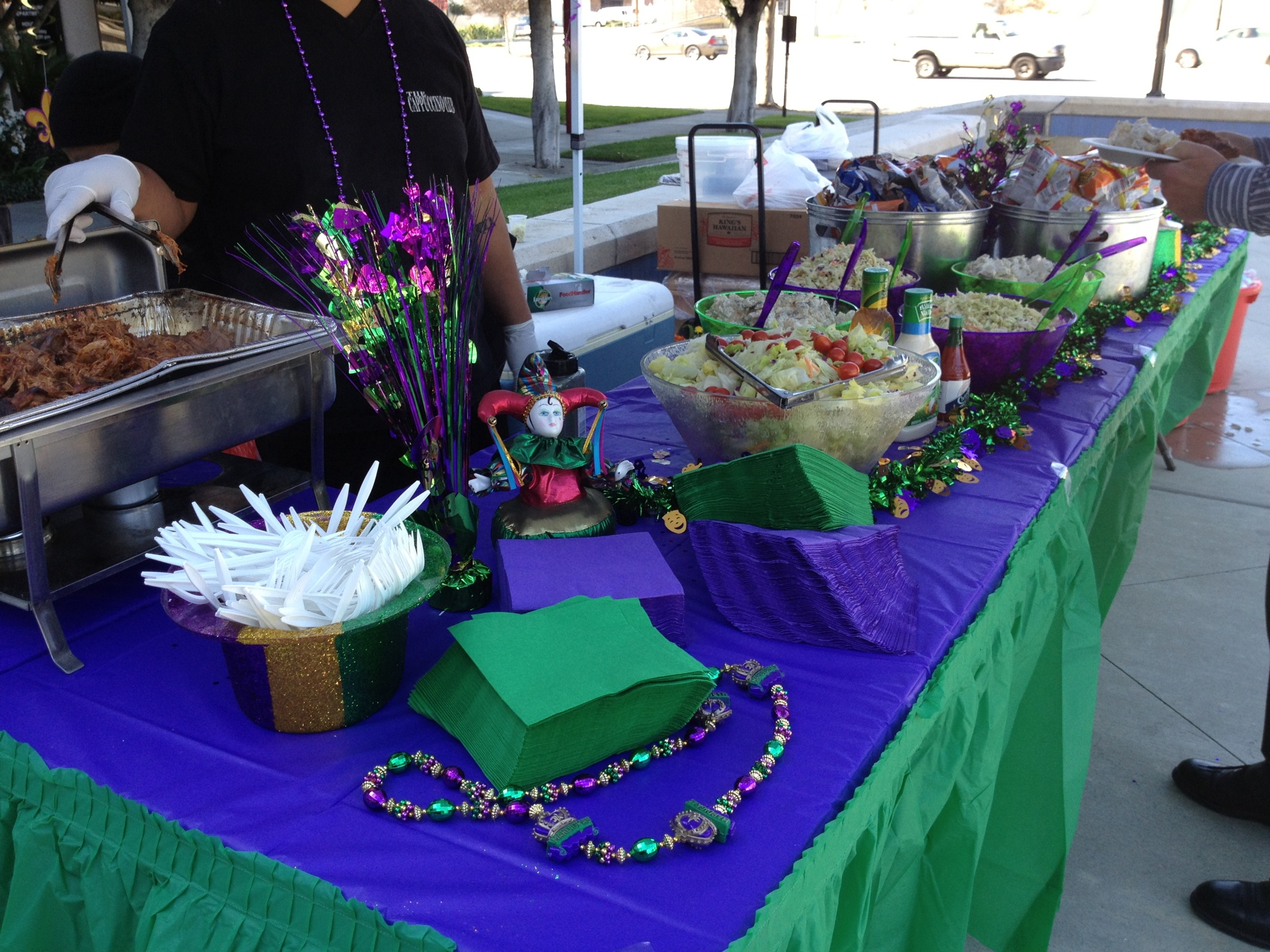 Marti Gras Lunch Celebration