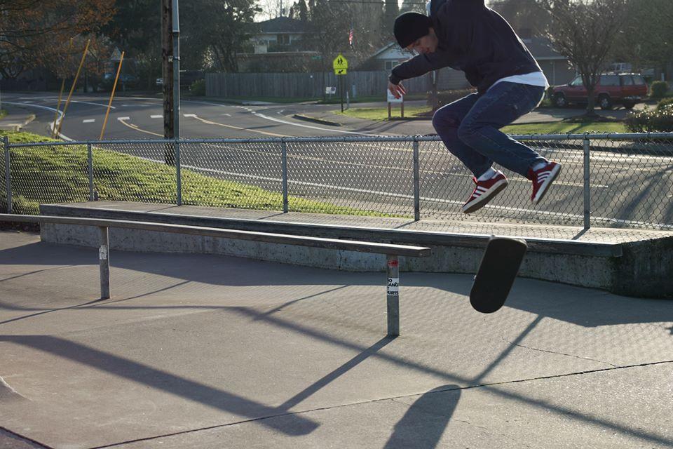 """Caleb """"Peep Game"""" Grant      Photo - Jordan Brandt"""