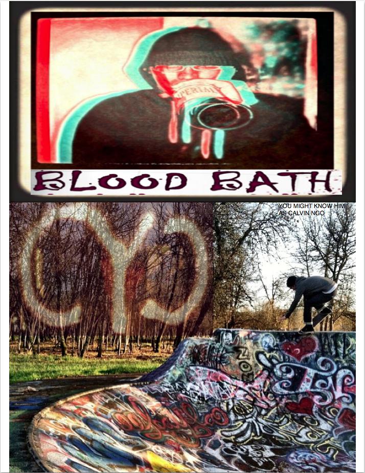 "Calvin ""Bloodbath"" Ngo      Photo - Jeff Tufts"
