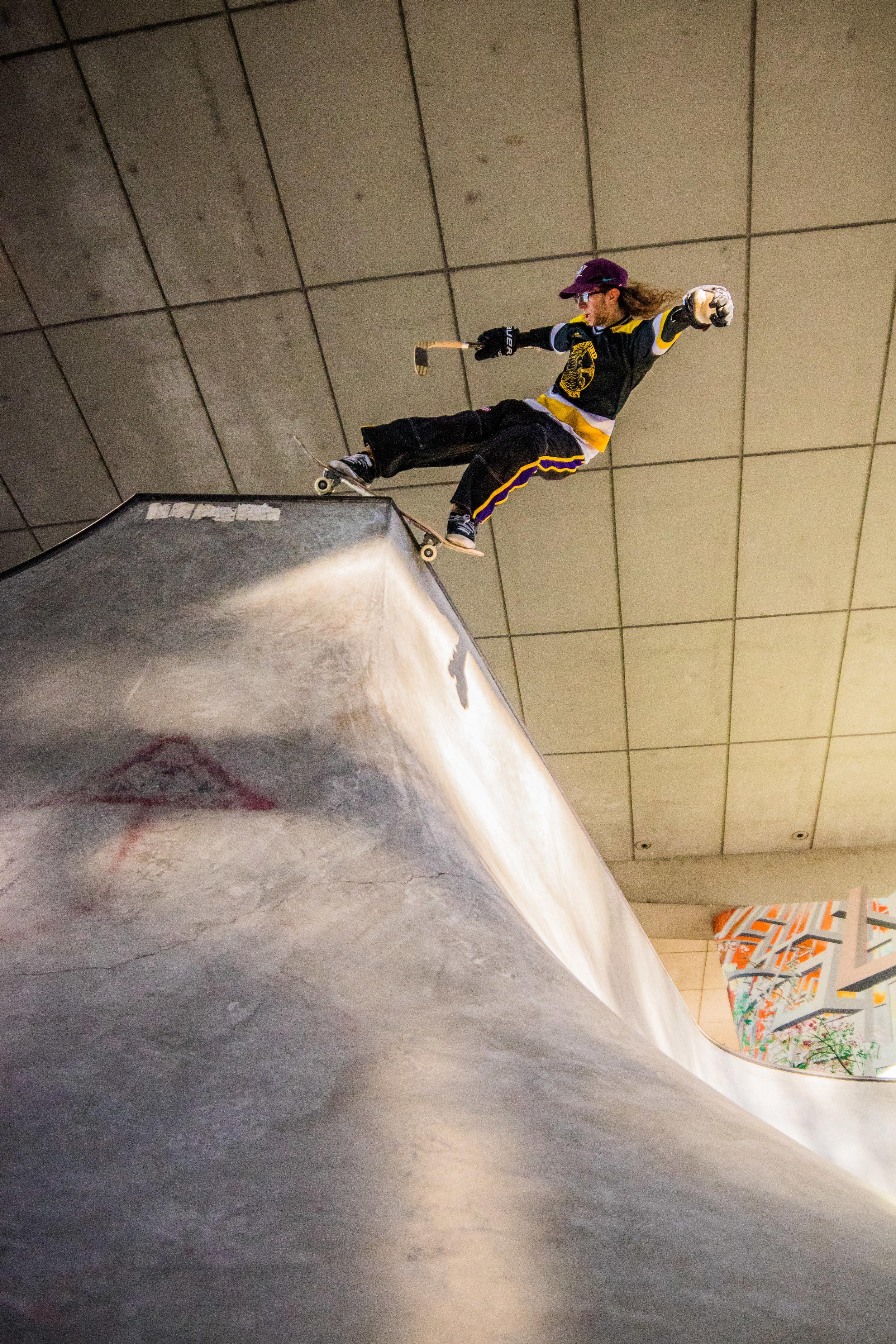 Drew Bieschke      Photo - Omar Maya