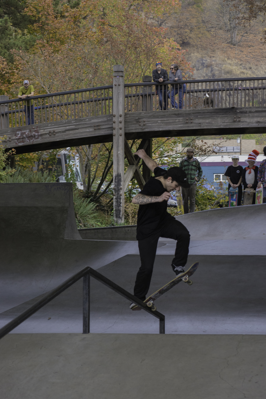 Colin Crespino - Fs Blunt - Photo. Zina Kraskoff