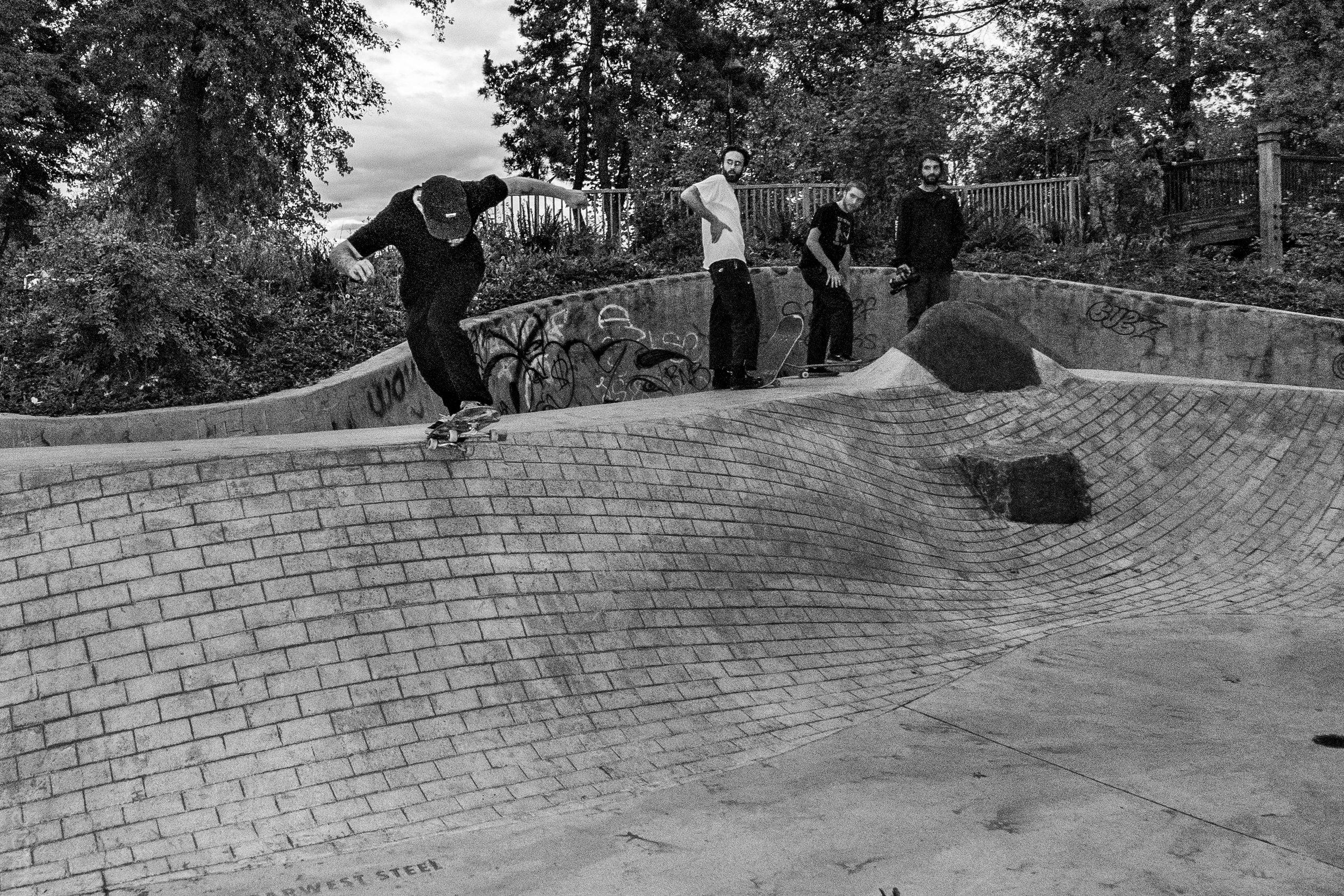 Colin Crespino - Bs Tail - Photo. Matt Helstab
