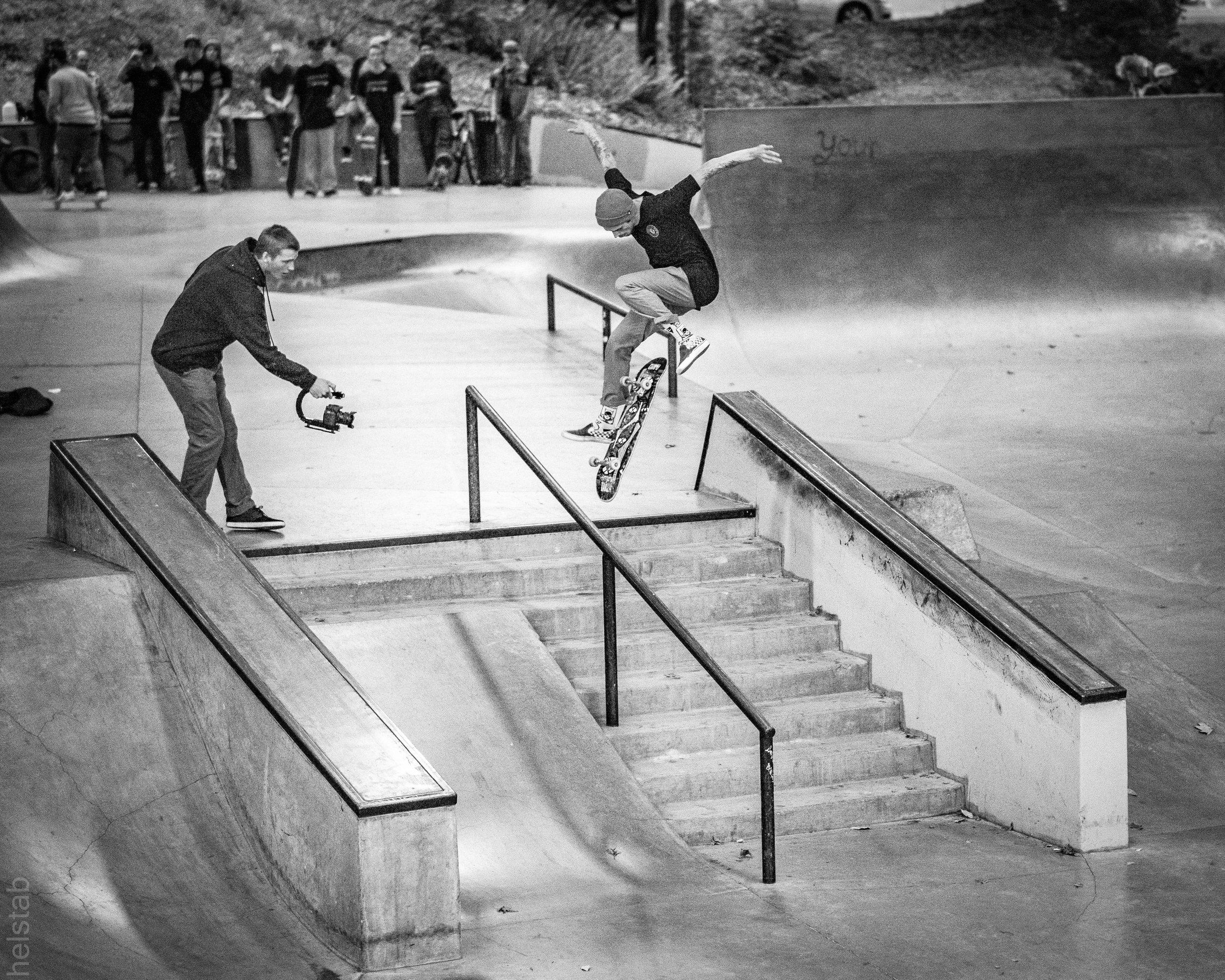 Dylan Chrisman - Hardflip - Photo. Matt Helstab