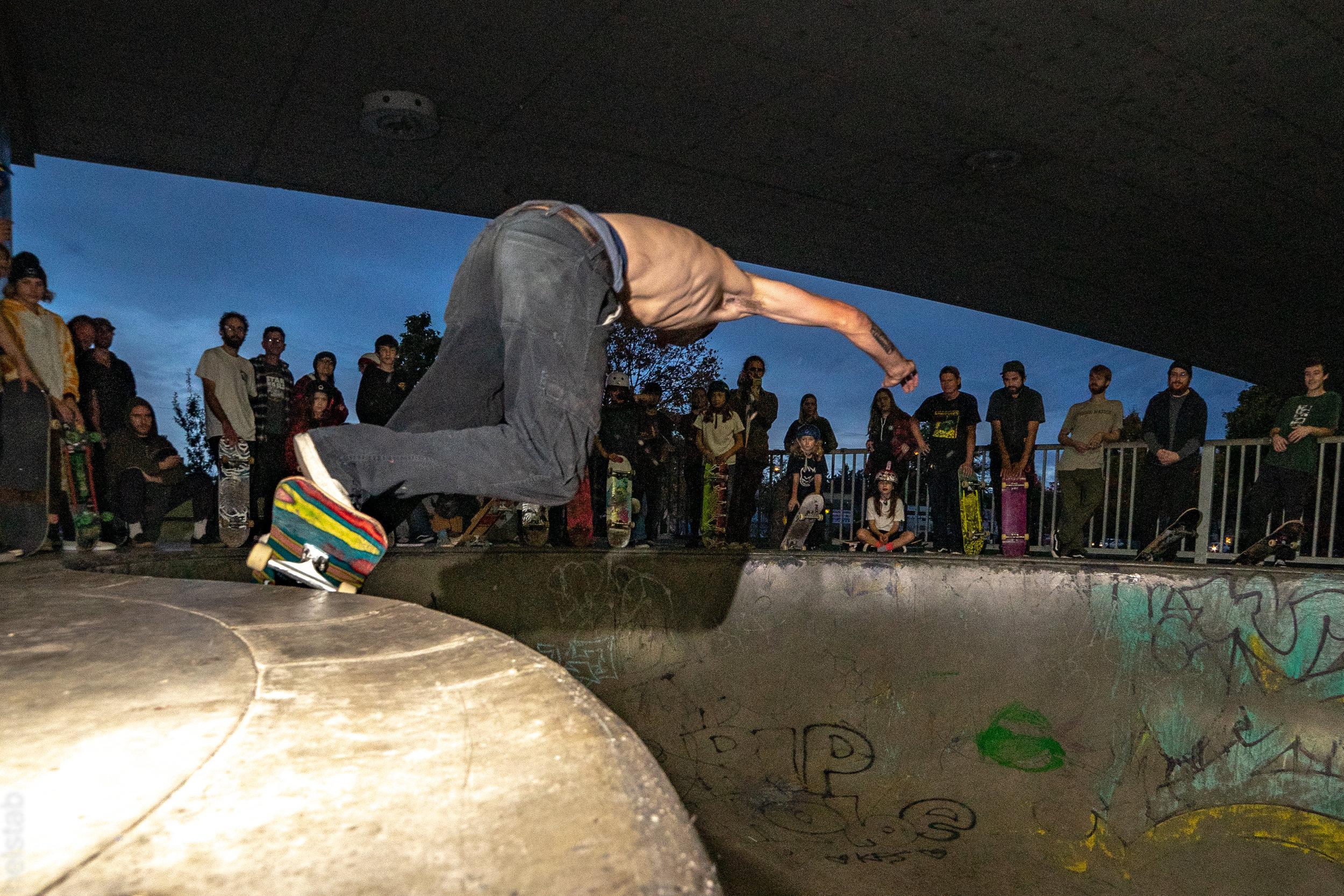 Noah Johnson - Monty Grind - Photo. Matt Helstab