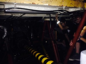 Class of 2015 in the Engine Room of Privateer