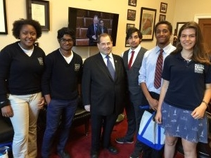 Our meeting with Congressman Jerald Nadler