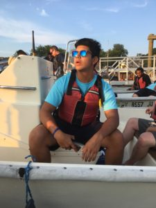 Power boating with SUNY Maritime interns