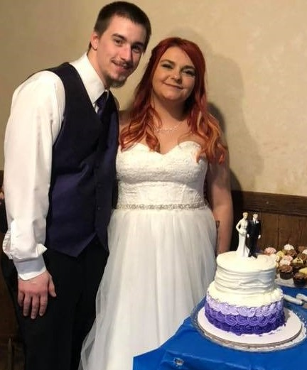 It was such a happy day for Alex… she always wanted her own family and Michael is a wonderful start to making that dream come true.