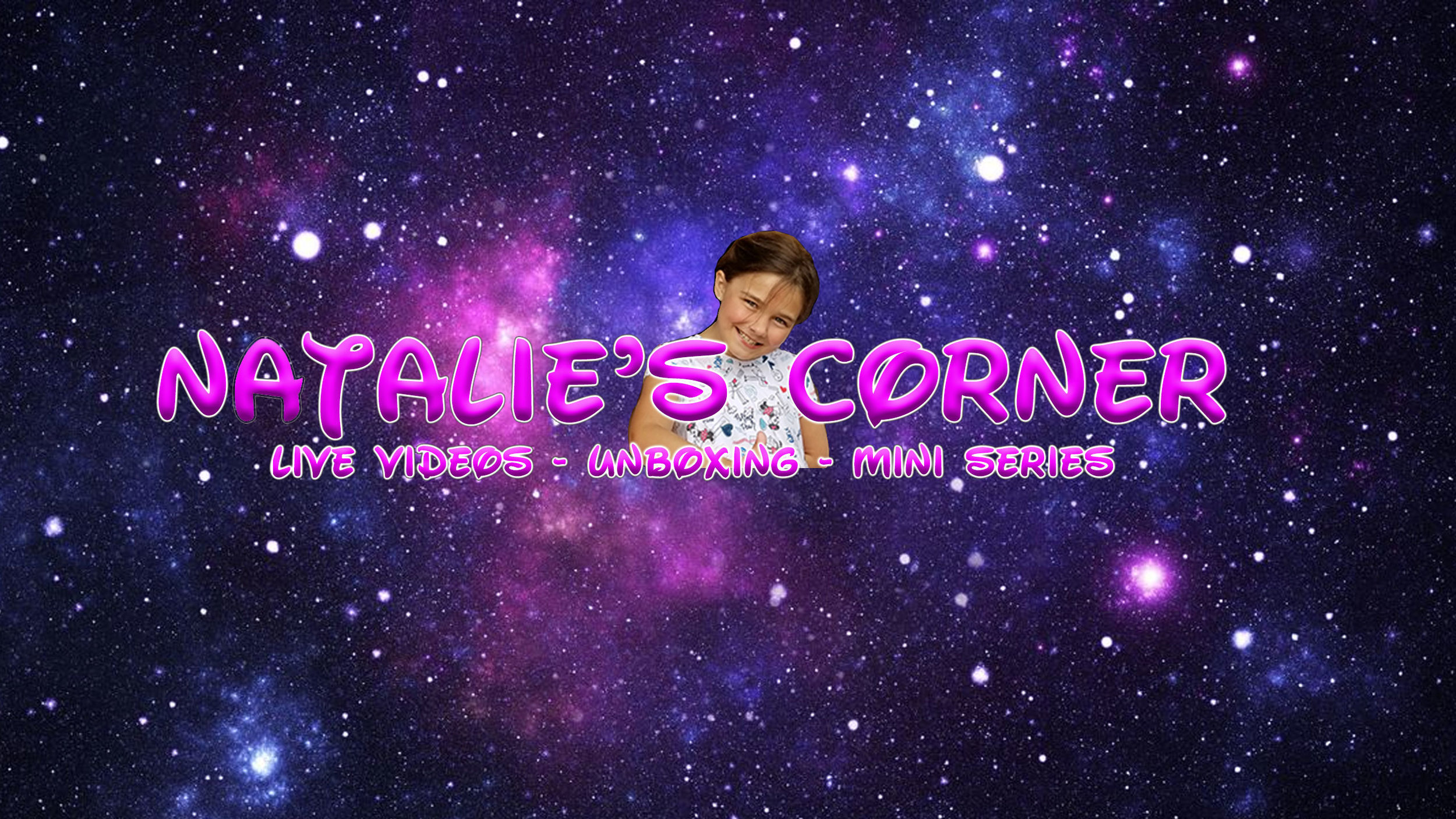 Natalie's Corner - It All started when Natalie wanted to work with her father ACourchez and make her own videos. She started with a few VLOG style videos on her life. She did very well on camera. As she got older and her father started learning visual effects, Natalie wanted to do more. So they worked together making little short stories based around Natalie's famdom worlds (Harry Potter, Star Wars, Doctor Who, Ect..). Natalie's Creations was born. One day while camping at Disney's Fort Wilderness Campground, Natalie me Dawn and Ray from a camper rental company called Camper Rental Adventures. Turns out they were fans of her shows. They hired Natalie to do some specials in the campground showing off activities at Fort Wilderness for there potential clients to see. Instant Hit! Now Natalie does Live Broadcasts with her father weekly at the Fort. After being introduced to YouTube Kids, Natalie grew a love for toy unboxing videos and wanted to try it. Once again, her talents shined and another show was born, Unboxing with Natalie.
