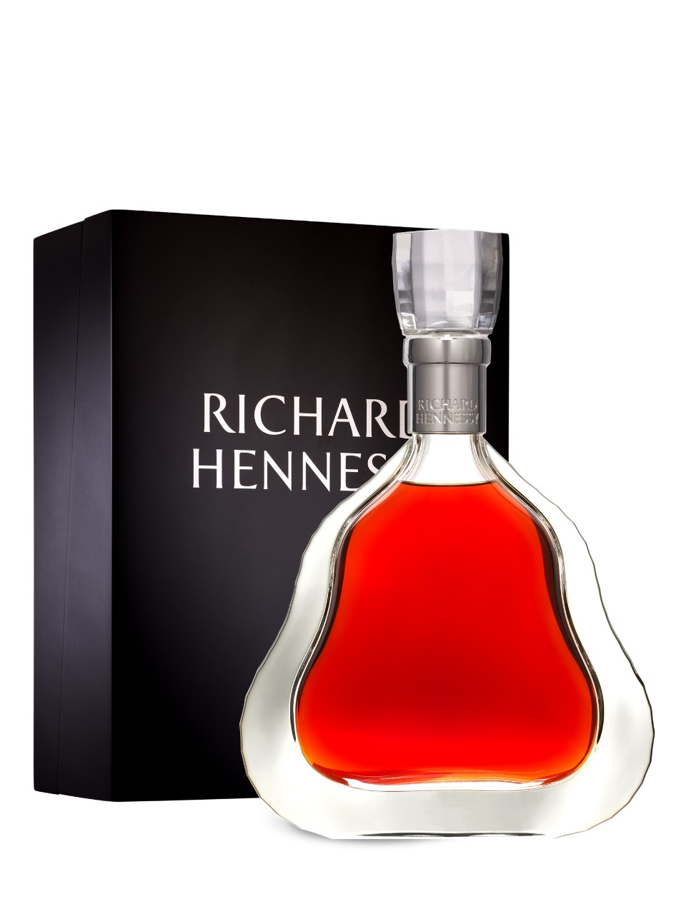 """Lastly we have Richard Hennessy. This Bottle is becoming increasingly rare due to the """"eau de vie"""" (water of life.) """"Eau de vie"""" is the brandy that goes into the blending process, which helps make this specific cognac. This particular brandy is becoming increasingly rare with every bottle that is being made, and soon will become extinct. A bottle of Richard Hennessy can be purchased from anywhere between $4,800 to $7,000. If you are looking to buy this bottle at the Fizz, be prepared to drop $14,000 on it!"""