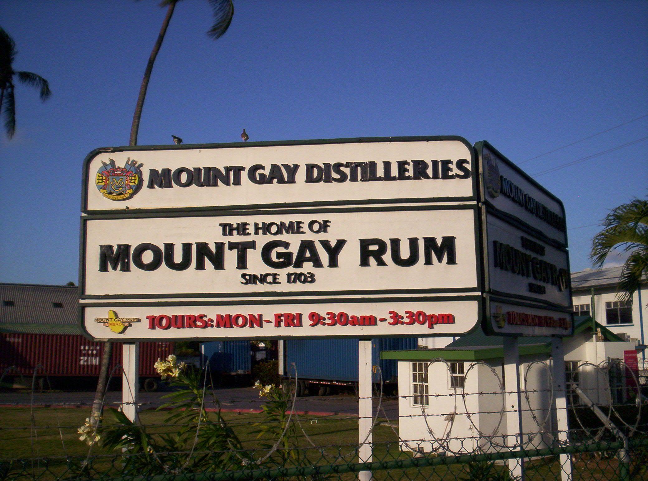 Mount Gay Distilleries