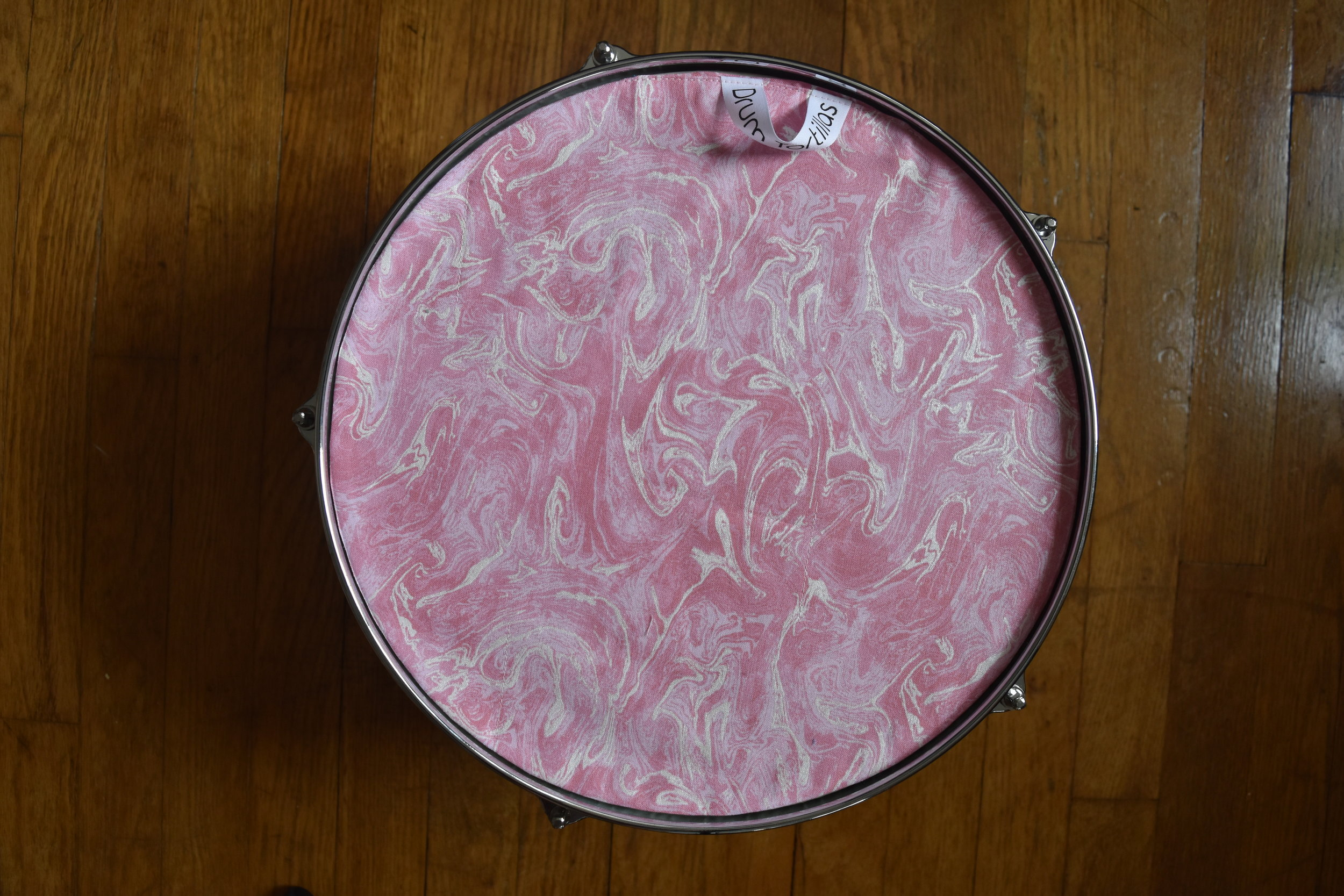 Pink Marbled