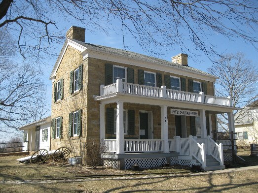 Lewelling House, Salem, Iowa