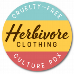 The  Herbivore Clothing Company  was founded in 2002 to make veganism look good! We use fashion, ethics and humor to inspire a community of vegans who want to show the world that vegan is the future. Our store is in the world's first all vegan mini-mall, newly remodeled and featuring vegan shoes! Herbivore is proud to partner with NW Veg to support going vegan for all!