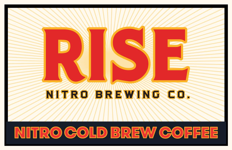 RISE Brewing Co. Nitro Cold Brew Coffee